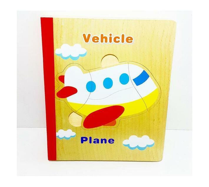 Transport Puzzle Book
