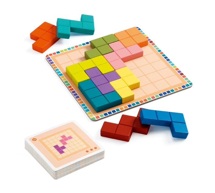Djeco Educational Game: Polyssimo