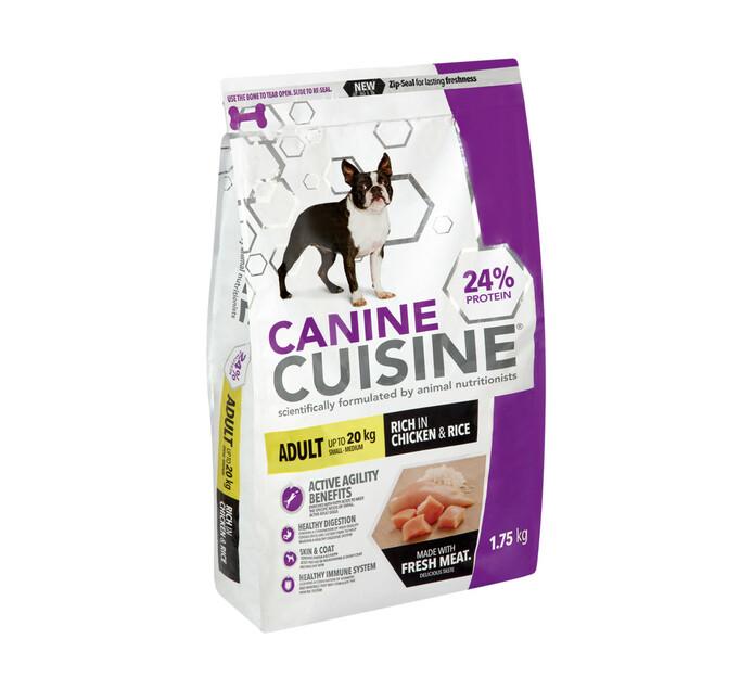 Canine Cuisine Dog Food Adult Small - Meduim (1 x 1.75kg)