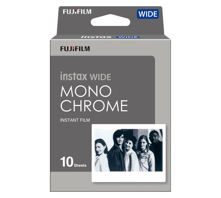 INSTAX Film Wide (10 Sheets) Monochrome NEW