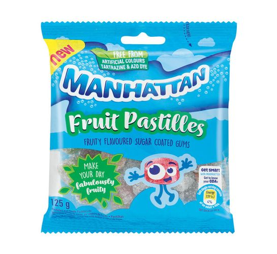 Manhattan Sweets Fruit Pastilles (24 x 125g)