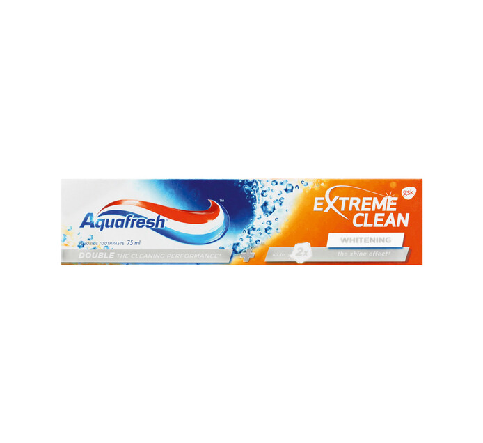 Aquafresh Toothpaste X/Clean Whitening (1 x 75ml)
