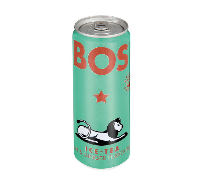 BOS Ice Tea Lime and Ginger (4 x 330ml)
