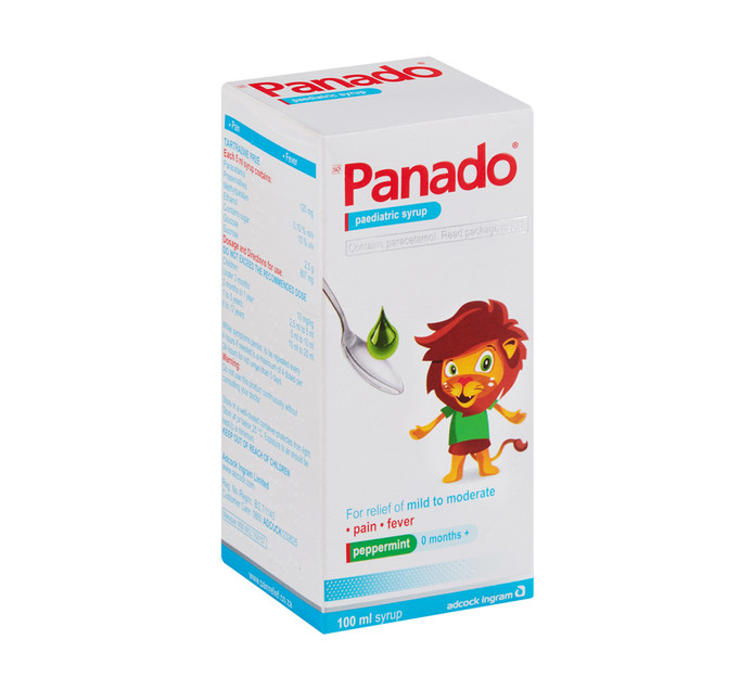 Panado Paediatric Syrup Regular (1 x 100ml)