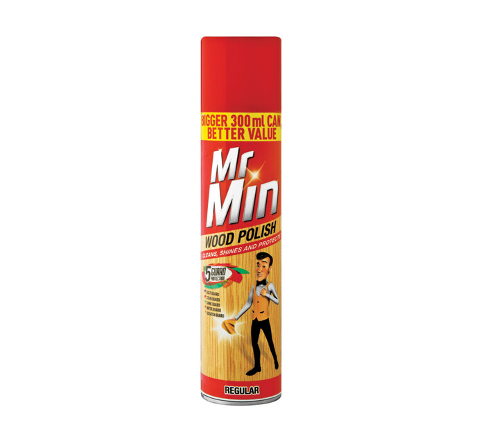 MR MIN WOOD POLISH 300ML, REGULAR
