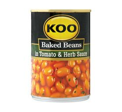 KOO Baked Beans in Sauce Tomato & Herb (1 x 410g)