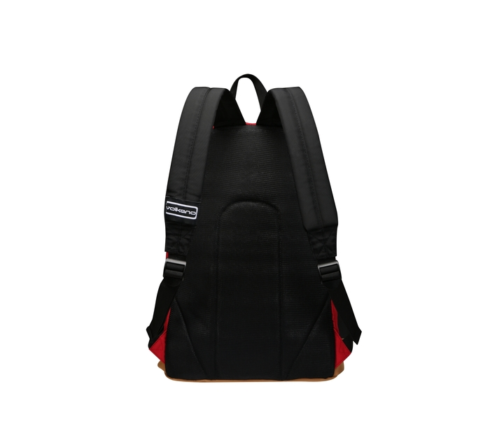 """Volkano Scholar Series 15.6"""" (39.6 cm) Backpack in Red With Laptop Compartment and Adjustable Shoulder Straps"""