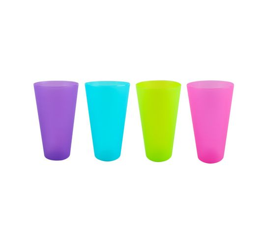 Leisure Quip 4-Piece 500 ml Polyproylene Tumbler Set