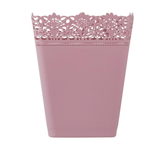 ALPLAS PLASTIC BIN SQUARE PINK