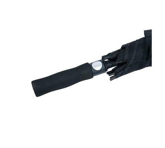 """The Umbrella Man - 30"""" Auto Open Fibreglass Golf Umbrella - Black"""