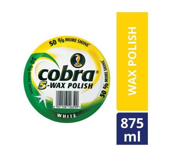Cobra Floor Polish White (1 x 875ml)