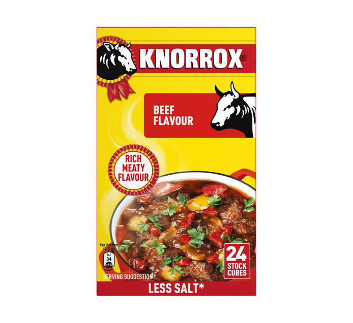 Knorr Stock Cubes Beef (10 x 24's)