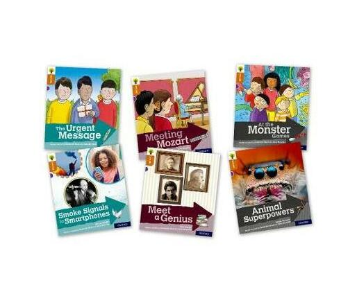 Oxford Reading Tree Explore with Biff, Chip and Kipper: Oxford Level 8: Mixed Pack of 6