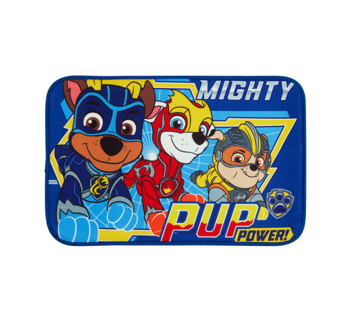 Character 40 x 60 cm Area Rug Mircrofibre Paw Patrol Blue