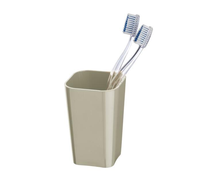 WENKO Toothbrush Tumbler - Candy Range - Taupe