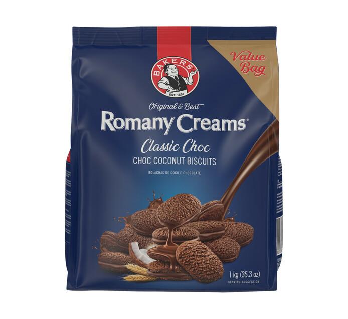 Bakers Romany Creams Classic Choc (1 x 1kg)