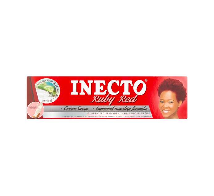 Inecto Hair Dye Ruby Red (1 x 50ml)