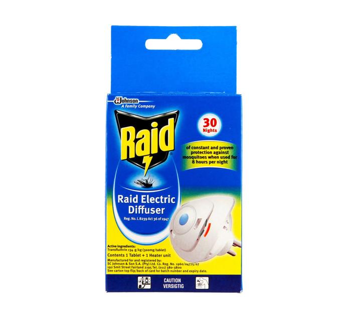 Raid Electric Mosquito Diffuser (1 x 1's)