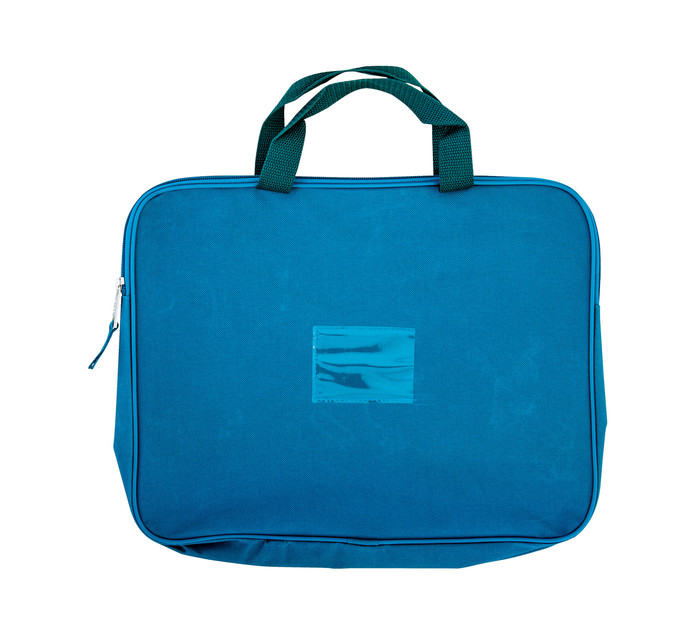Kenzel A4 Book Bag with Handle Teal Teal