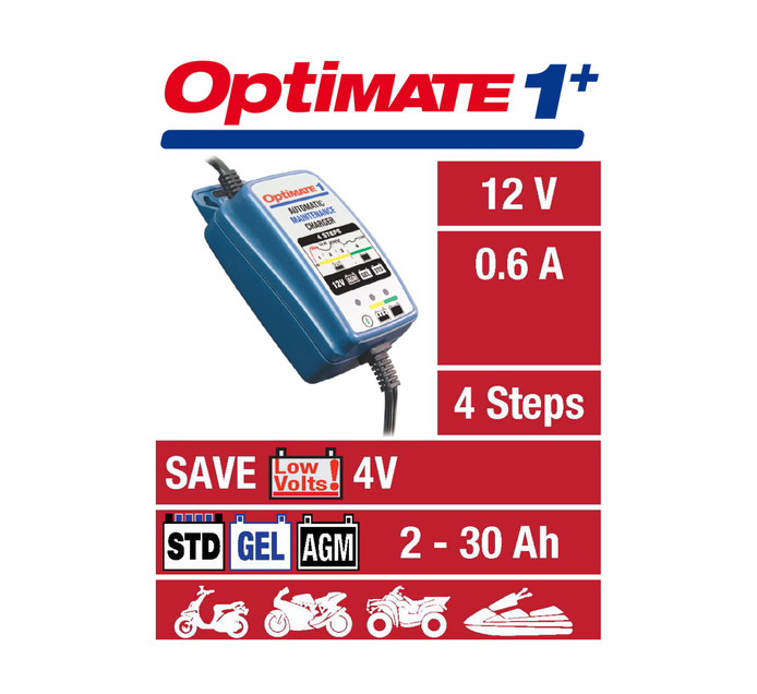 Optimate Optimate +1 Charger/Maintainer