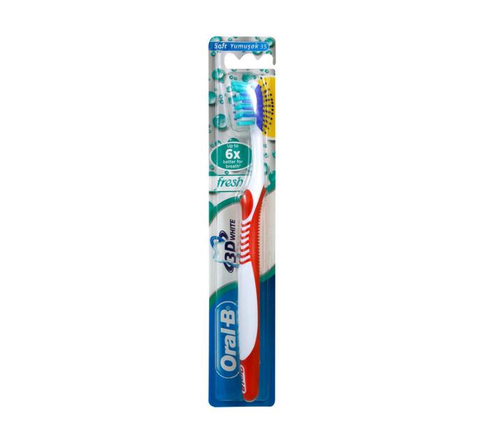 Oral B 3D White  Toothbrush 35 Soft Fresh (1 x 1's)