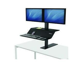 Lotus VE SIT-Stand Workstation - Dual