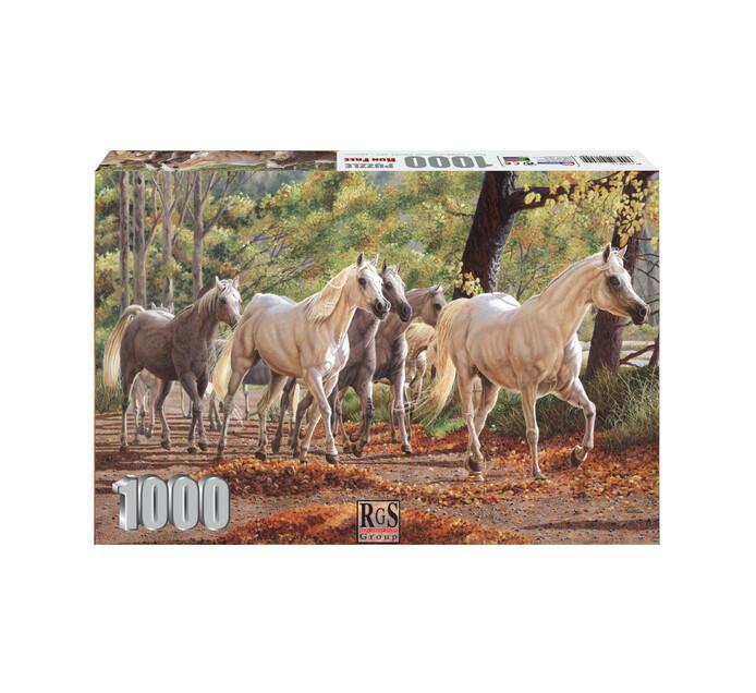 1000-piece Run Free Puzzle