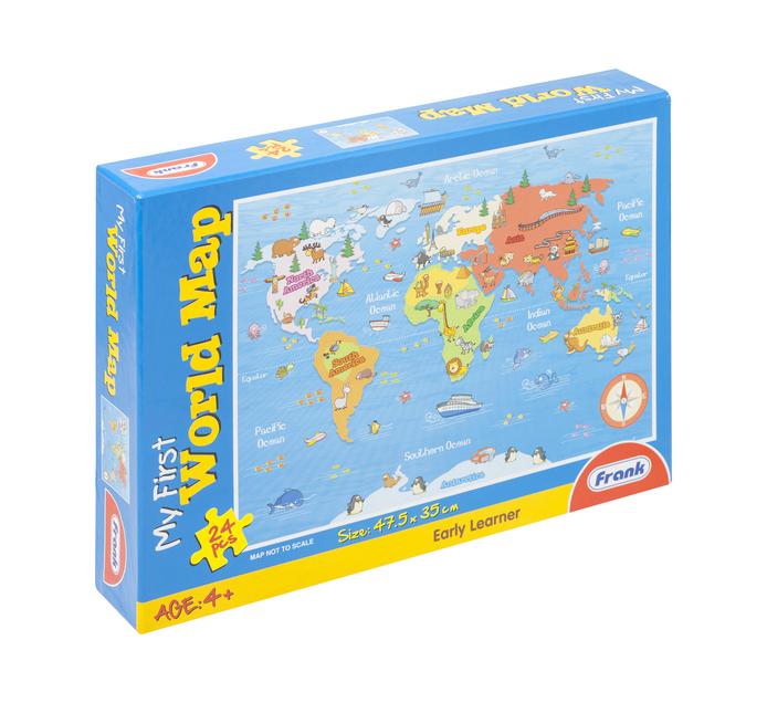 24 piece Map Puzzle