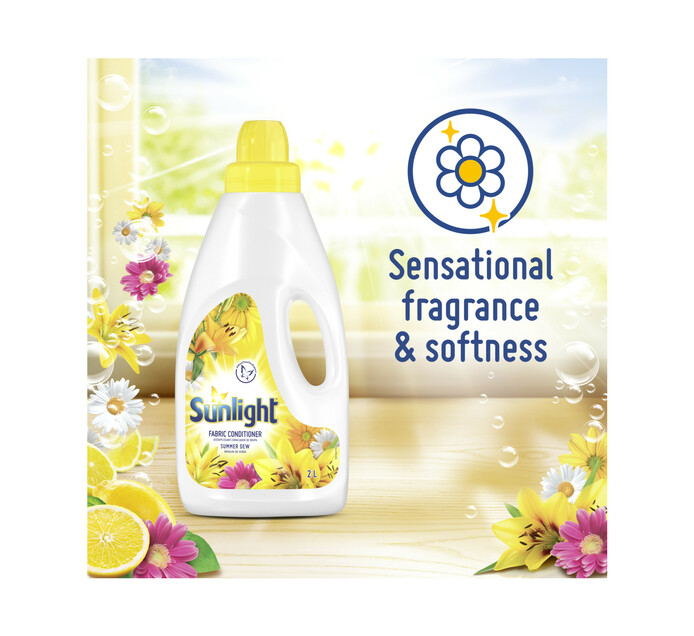 Sunlight Fabric Softener Summer Dew (1 x 2L)