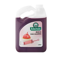 Robertsons Food Colouring Red (4 x 3lt)