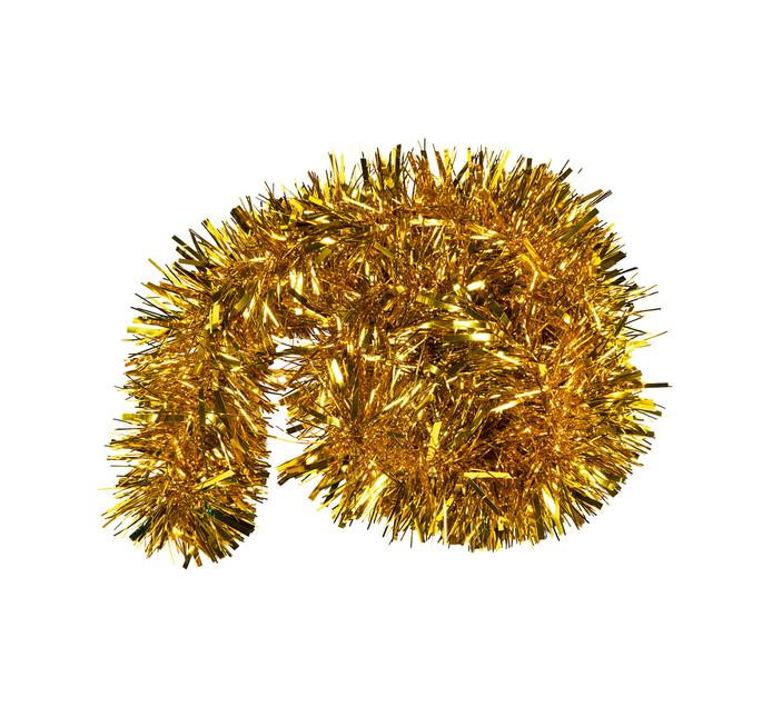 St Nicholas 2 m Champagne Gold Chunky Tinsel