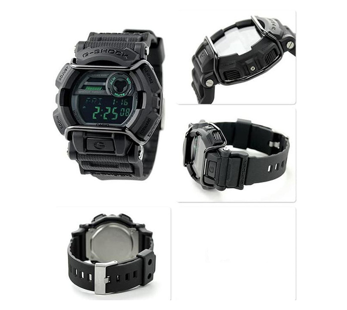 Casio G-Shock GD-400MB-1DR Men`s Digital Watch Bundle