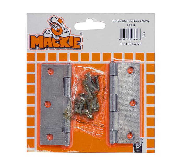 MACKIE 75mm Butt Hinge