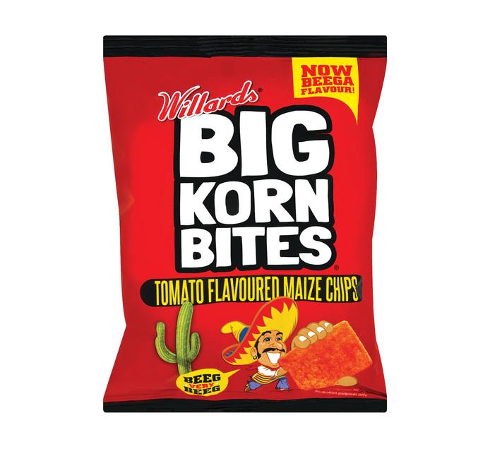 WILLARDS Big Korn Bites Tomato (48 x 50g)