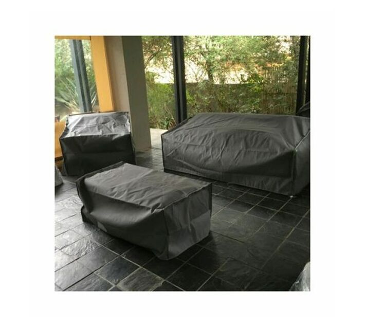 Patio Solution Covers Couch Cover Medium - Dove Grey Ripstop UV 260grm