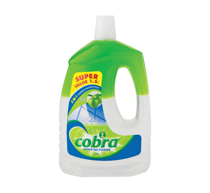 Cobra 2 in 1 Active Tile Cleaner Apple (1 x 1.5L)