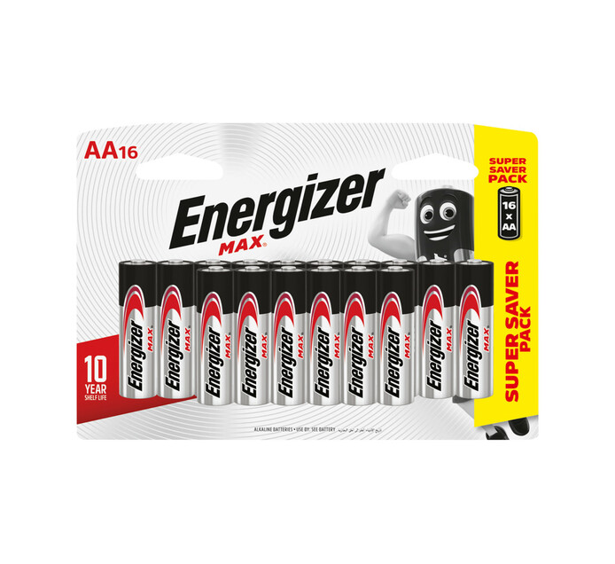 Energizer Max AA Batteries 16-Pack