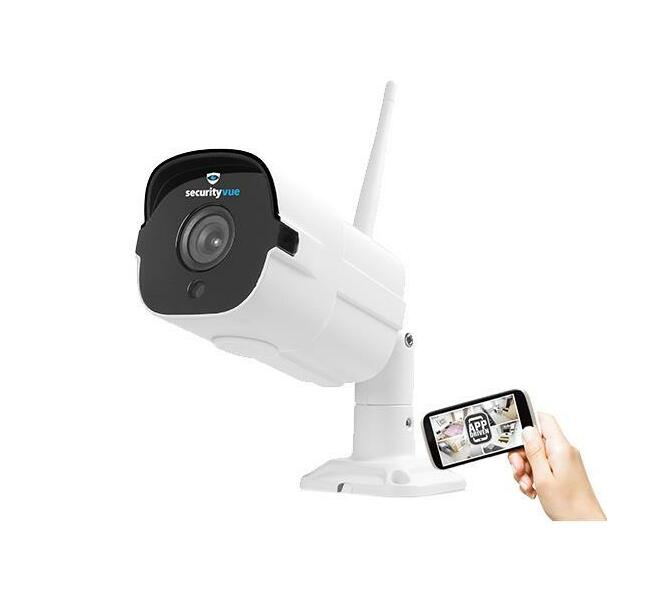 SECURITYVUE SMART HOME 1080P OUTDOOR IP CAMERA WITH MOTION SENSOR