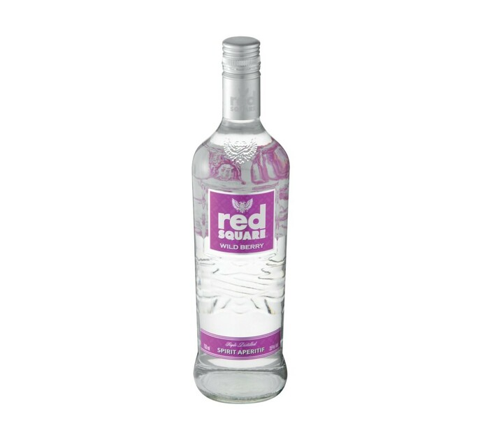 Red Square Infused with Wild Berries (1 x 750 ml)