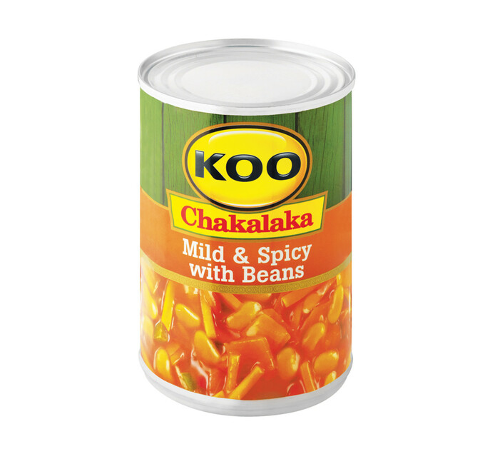 KOO Chakalaka Mild and Spicy with Beans (1 x 410g)