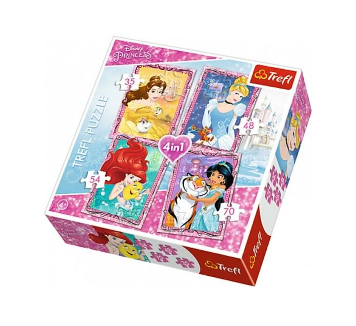 Trefl 4-in-1 Princess Puzzle