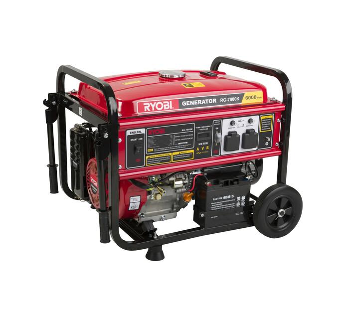 Ryobi 6.5 kVA Key Start Generator