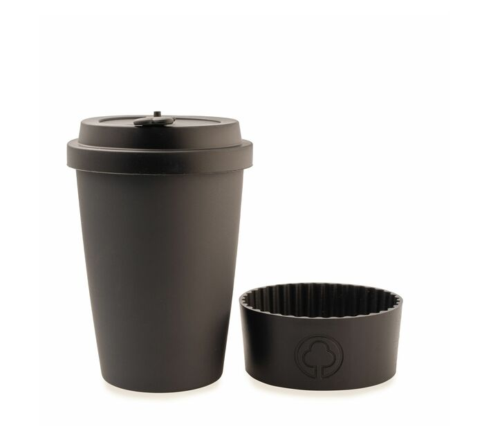Bamboo Eco Cup 400ml Black