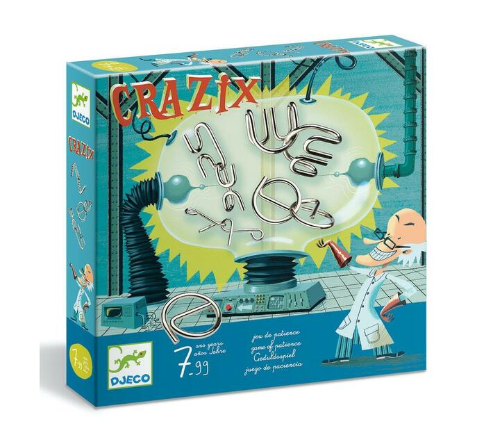 Djeco Educational Game: Crazix