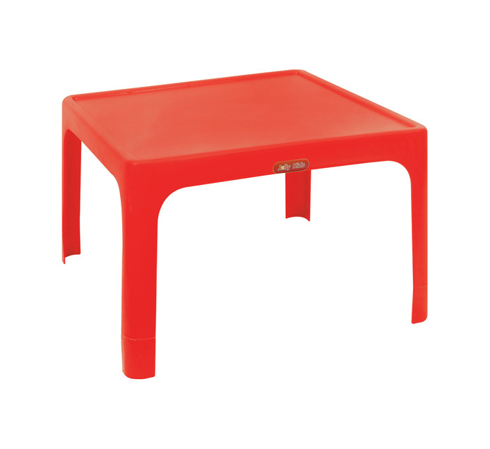 Jolly Large Childrens Table Red
