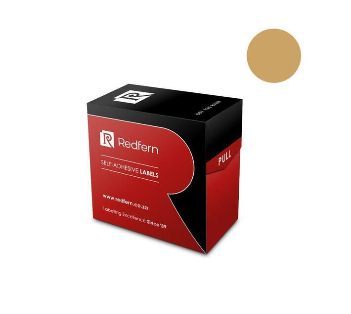 Redfern Self-Adhesive Colour Codes - C13 Gold