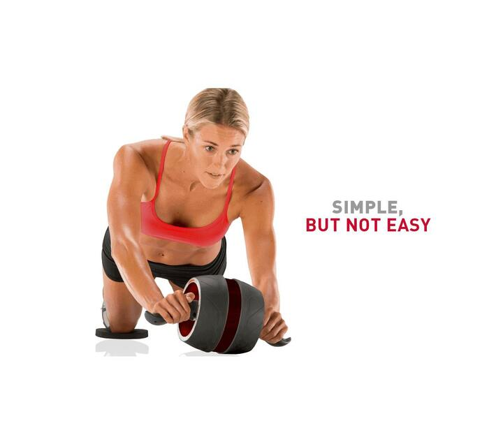 Ashcom Fitness Ab Carver Pro Roller for Core Workouts