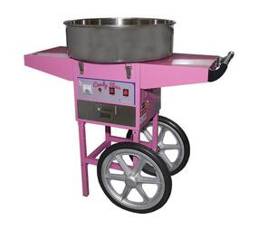 CHROMECATER Floor Model Candy Floss Machine on Cart