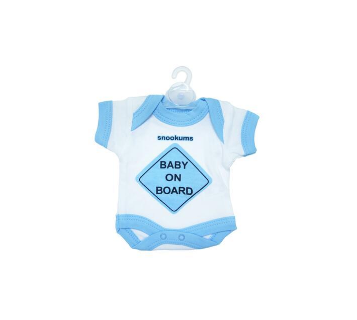 Baby On Board Babygrow - Blue
