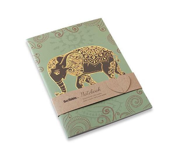 Scribblz A5 Elephant Notebook
